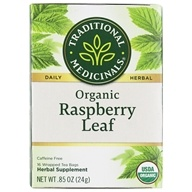 Image of Traditional Medicinals - Organic Raspberry Leaf Tea - 16 Tea Bags