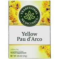 Traditional Medicinals - Yellow Pau d'Arco - 16 Tea Bags