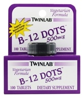 Twinlab - B-12 Dots 500 mcg. - 100 Dots, from category: Vitamins & Minerals