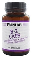 Twinlab - B2 couvre Pur cristallin 100 mg. - 100 Capsules