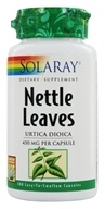 Solaray - Nettle Leaves 450 mg. - 100 Capsules, from category: Herbs