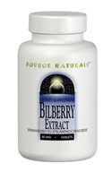 Image of Source Naturals - Bilberry Extract 50 mg. - 120 Tablets