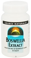Source Naturals - Boswellia Extract 243 mg. - 50 Tablets by Source Naturals