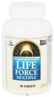 Source Naturals - Life Force Multiple No Iron - 30 Tablets CLEARANCED PRICED (021078009641)