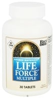 Image of Source Naturals - Life Force Multiple No Iron - 30 Tablets CLEARANCED PRICED
