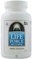 Source Naturals - Life Force Multiple Energy Activator No Iron - 120 Tablets