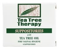 Image of Tea Tree Therapy - Suppositories with Tea Tree Oil - 6 Pack(s)