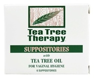 Tea Tree Therapy - Suppositories with Tea Tree Oil - 6 Pack(s), from category: Personal Care