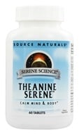 Image of Source Naturals - Theanine Serene 200 mg. - 60 Tablets