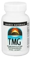 Image of Source Naturals - TMG Trimethylglycine 750 mg. - 60 Tablets