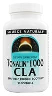 Source Naturals - Tonalin 1000 CLA - 90 Softgels