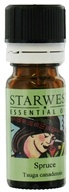 Starwest Botanicals - Spruce Essential Oil (1/3 oz.) - 0.33 oz., from category: Aromatherapy