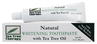 Tea Tree Therapy - Whitening Toothpaste with Tea Tree Oil - 3 oz. - $3.28