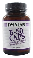 Twinlab - B-50 Vitamin B-Complex - 50 Capsules, from category: Vitamins & Minerals