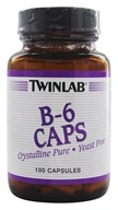 Twinlab - B-6 Caps 100 mg. - 100 Capsules, from category: Vitamins & Minerals