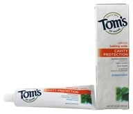 Tom's of Maine - Natural Toothpaste Cavity Protection With Fluoride & Baking Soda Peppermint - 5.5 oz. by Tom's of Maine