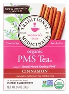 Traditional Medicinals - PMS Tea - Promotes A Healthy Cycle - 16 Tea Bags, from category: Teas