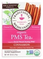 Traditional Medicinals - PMS Tea - Promotes A Healthy Cycle - 16 Tea Bags