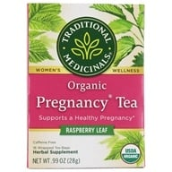 Traditional Medicinals - Pregnancy Tea - Supports Healthy Pregnancy - 16 Tea Bags