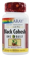 Image of Solaray - Guaranteed Potency Black Cohosh One Daily - 30 Capsules