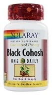 Solaray - Guaranteed Potency Black Cohosh One Daily - 30 Capsules