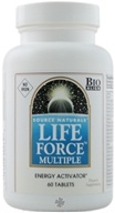 Image of Source Naturals - Life Force Multiple Energy Activator No Iron - 60 Tablets