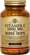 Image of Solgar - Vitamin C With Rose Hips 1000 mg. - 100 Tablets