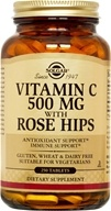 Solgar - Vitamin C With Rose Hips 500 mg. - 250 Tablets - $16.47
