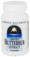 Source Naturals - Urovex Butterbur Extract 50 mg. - 30 Softgels, from category: Herbs