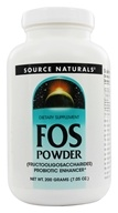 Image of Source Naturals - FOS Powder Fructooligosaccharides Probiotic Enhancer - 200 Grams