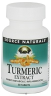 Image of Source Naturals - Turmeric Extract - 50 Tablets