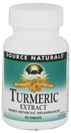 Source Naturals - Turmeric Extract - 50 Tablets by Source Naturals