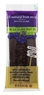 Stretch Island Fruit - All-Natural Fruit Strip Harvest Grape - 0.5 oz. Formerly Original Fruit Leather by Stretch Island Fruit