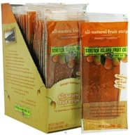 Stretch Island Fruit - All-Natural Fruit Strip Mango Sunrise - 0.5 oz. Formerly Original Fruit Leather