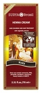 Image of Surya Brasil - Henna Brasil Cream Hair Coloring with Organic Extracts Black - 2.31 oz.