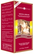Surya Brasil - Henna Brasil Cream Hair Coloring with Organic Extracts Burgundy - 2.31 oz.