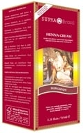 Surya Brasil - Henna Brasil Cream Hair Coloring with Organic Extracts Burgundy - 2.31 oz., from category: Personal Care