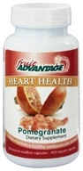 Traverse Bay Farms - Fruit Advantage Heart Health Pomegranate - 60 Capsules
