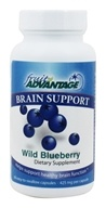 Traverse Bay Farms - Fruit Advantage Brain Support Wild Blueberry - 60 Capsules by Traverse Bay Farms