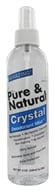 Image of Thai Deodorant Stone - Pure and Natural Crystal Pump Deodorant Mist - 8 oz.