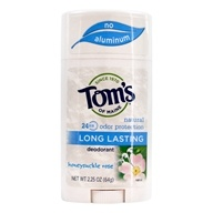 Tom's of Maine - Natural Deodorant Stick Long-Lasting Honeysuckle Rose - 2.25 oz.