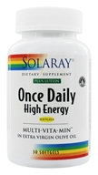 Solaray - Once Daily High Energy Multi-VitaMin Plus Lutein - 30 Softgels by Solaray