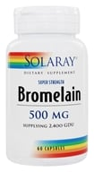 Solaray - Bromelain Extra Strength 500 mg. - 60 Capsules by Solaray