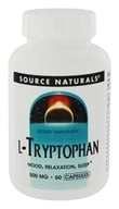 Source Naturals - L-Tryptophan 500 mg. - 60 Capsules (021078019848)