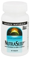 Source Naturals - NutraSleep - 40 Tablets by Source Naturals
