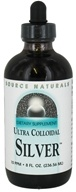 Source Naturals - Ultra Colloidal Silver Liquid 10 Ppm - 8 oz.