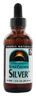 Image of Source Naturals - Ultra Colloidal Silver Liquid 10 Ppm - 2 oz.