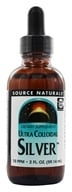 Source Naturals - Ultra Colloidal Silver Liquid 10 Ppm - 2 oz. - $8.84