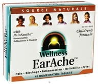 Source Naturals - Wellness EarAche Children's Formula - 48 Tablets CLEARANCE PRICED, from category: Nutritional Supplements