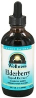 Image of Source Naturals - Wellness Elderberry Liquid Extract - 4 oz.